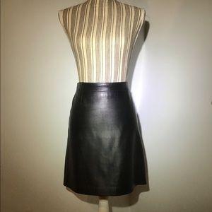 Dkny Skirts - DKNY Leather Skirt